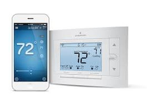 emerson wifi controlled thermostat installation