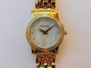 rodania gold and pearl ladies watch