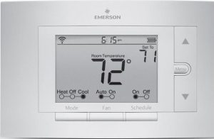 emerson wifi thermostat plus installation