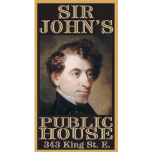sir johns public house auction sponsor