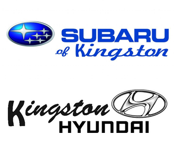 subaru kingston and kingston hyundai logo